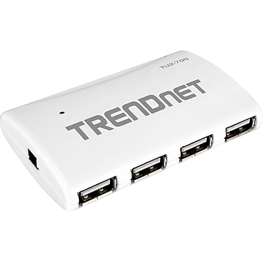 Trendnet 7-Port High Speed USB Hub With Power Adapter