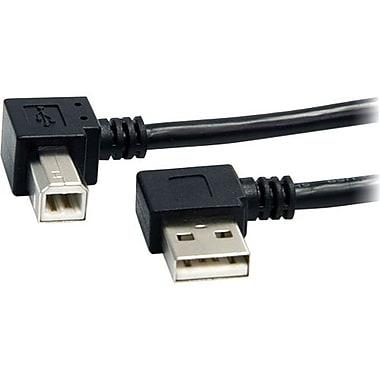 StarTech.com® USB2HAB2RA3 3' USB A/B Male to Male Cable