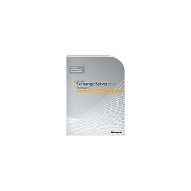 Microsoft Exchange Server 2010 Standard Edition, 64-Bit, Complete Product, 1 Server, 5 Cal