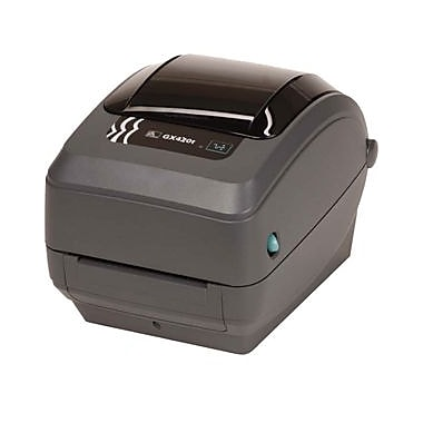 Zebra Gx430T Thermal Transfer Printer, Monochrome, Desktop, Label Print (GX43-102412-000)