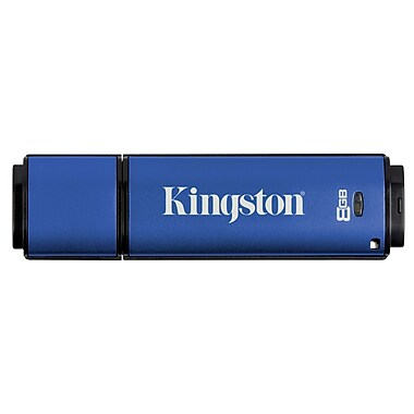 Kingston 8GB Datatraveler Vault Privacy 3.0 USB 3.0 Flash Drive (DTVP30/8GB)