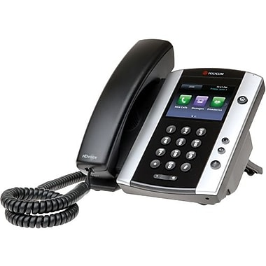 Polycom Vvx 500 Ip Phone, Cable