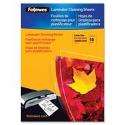 FellowesMD – Feuilles de nettoyage pour machine à plastifier, 10/paquet