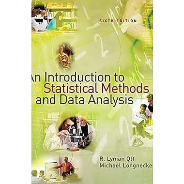 Bundle: An Introduction to Statistical Methods and Data Analysis, Student Version 14 for Windows, New Book, (9781111116316)