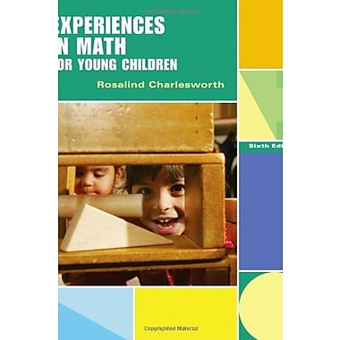 Experiences in Math for Young Children, Used Book, (9781111301507)