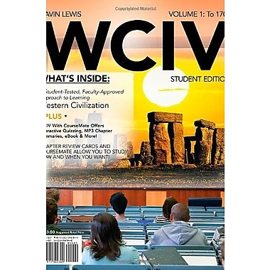 WCIV, Volume I with Review Cards and History CourseMate, eBook, and Resource Center 2-Semester Printed Access Card