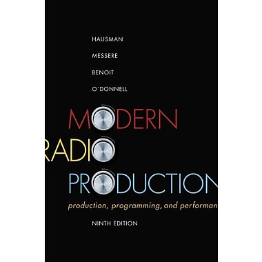 Modern Radio Production: Production Programming & Performance, New Book, (9781111344399)
