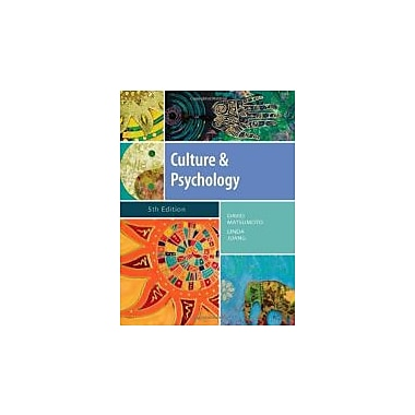 Culture and Psychology (Psy 399 Introduction to Multicultural Psychology), New Book, (9781111344931)