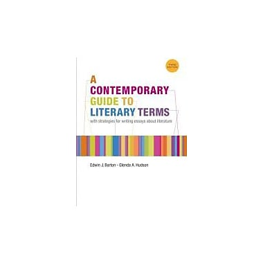A Contemporary Guide to Literary Terms, New Book, (9781111347956)