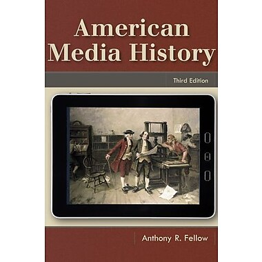 American Media History, Used Book, (9781111348120)