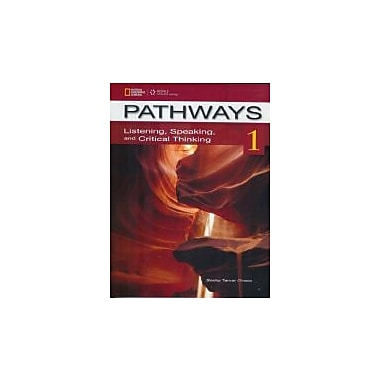 Pathways 1: Listening, Speaking, and Critical Thinking, New Book, (9781111350369)