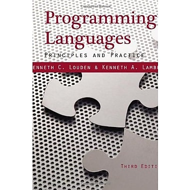 Programming Languages: Principles and Practices, Used Book, (9781111529413)