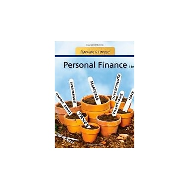 Personal Finance, New Book, (9781111531010)