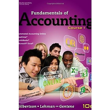 Fundamentals of Accounting: Course 1 (C21 Accounting, 10e), New Book, (9781111581169)