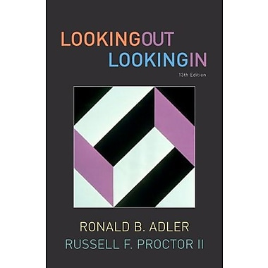 Bundle: Looking Out, Looking In, 13th, New Book, (9781111652012)