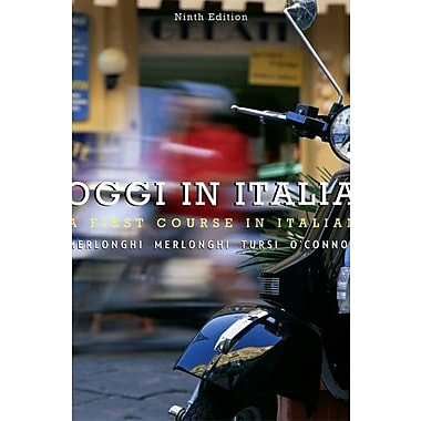 Bundle: Oggi In Italia, 9th + Student Activities Manual + Premium Web Site Printed Access Card, Used Book, (9781111699048)
