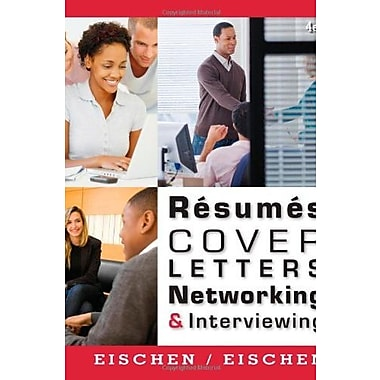 Resumes, Cover Letters, Networking, and Interviewing, Used Book, (9781111820848)