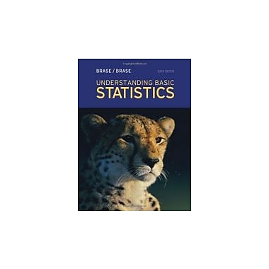 Understanding Basic Statistics, 6th Edition, New Book, (9781111827021)