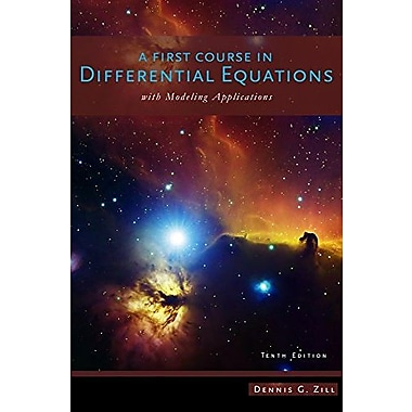 A First Course in Differential Equations with Modeling Applications, Used Book, (9781111827052)