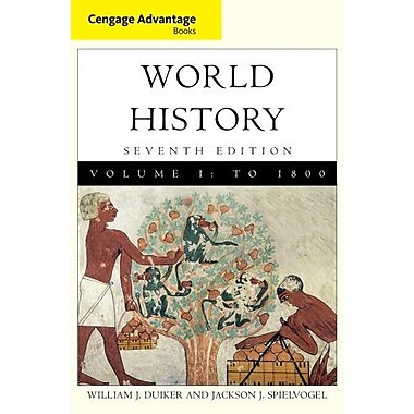 Cengage Advantage Books: World History, Volume I, New Book, (9781111837662)