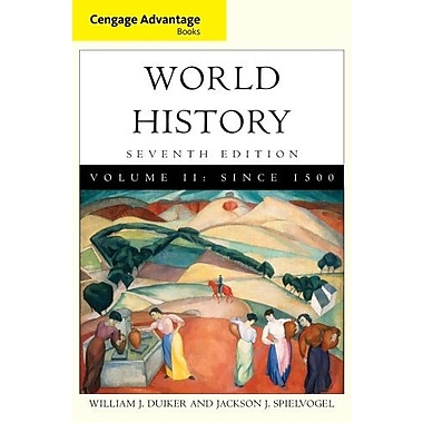 Cengage Advantage Books: World History, Volume II, New Book, (9781111837679)