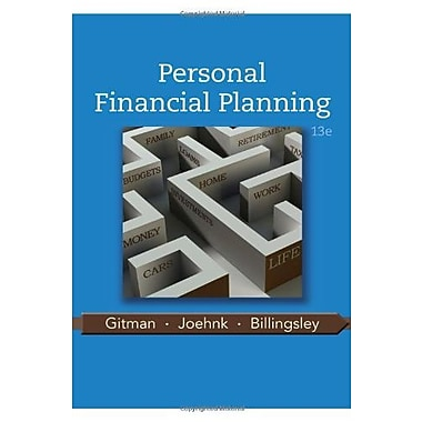 Personal Financial Planning, New Book, (9781111971632)