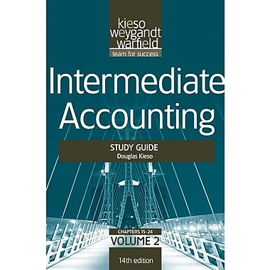 Intermediate Accounting, , Study Guide, Vol. II (Volume 2), New Book, (9781118014509)