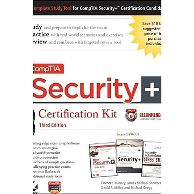 CompTIA Security+ Certification Kit Recommended Courseware: Exam SY0-301, New Book, (9781118061152)