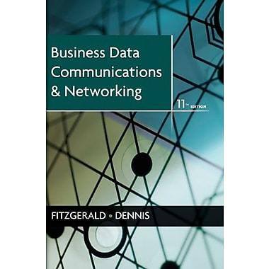 Business Data Communications and Networking, New Book, (9781118086834)