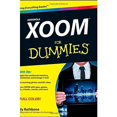 Motorola XOOM for Dummies, New Book, (9781118088357)