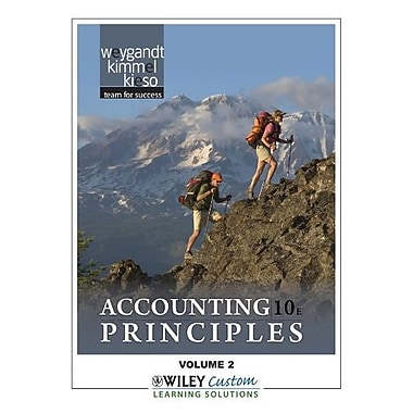 Accounting Principles 10th Edition Volume 2 for Queensborough Community College