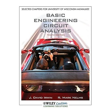 Basic Engineering Circuit Analysis 10th Edition for UWMadison, Used Book, (9781118118924)