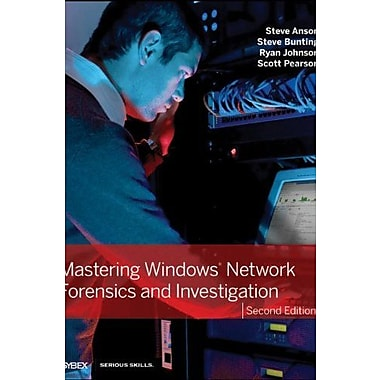 Mastering Windows Network Forensics and Investigation, New Book, (9781118163825)
