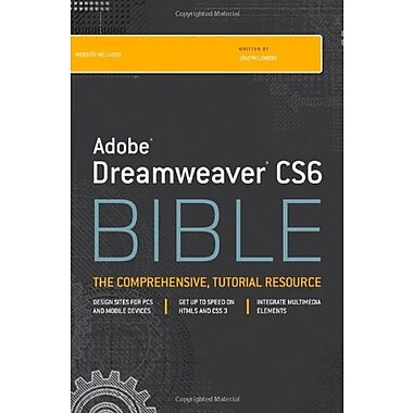 Adobe Dreamweaver CS6 Bible, New Book, (9781118170632)