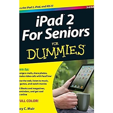 iPad 2 for Seniors for Dummies, Used Book, (9781118176788)