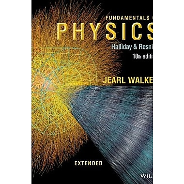 Fundamentals of Physics Extended, New Book, (9781118230725)