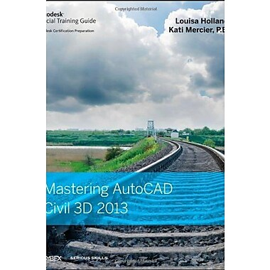 Mastering AutoCAD Civil 3D 2013, New Book, (9781118281758)