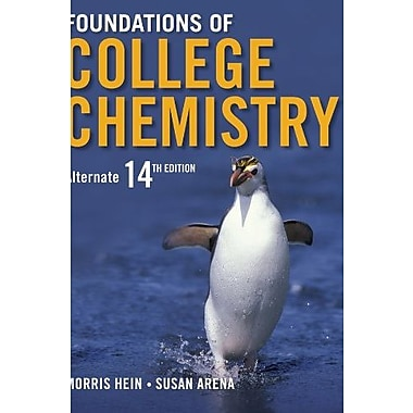 Foundations of College Chemistry, New Book, (9781118298237)