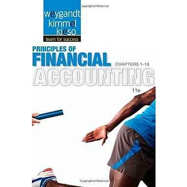 Principles of Financial Accounting: Chapters 1-18, Used Book, (9781118342084)