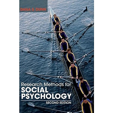 Research Methods for Social Psychology, Used Book, (9781118406052)