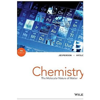 Chemistry: The Molecular Nature of Matter, New Book, (9781118516461)
