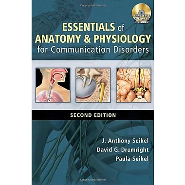 Essentials of Anatomy and Physiology for Communication Disorders (with CD-ROM), New Book, (9781133018216)