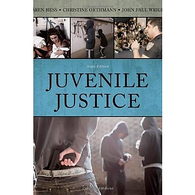 Juvenile Justice, New Book, (9781133049623)