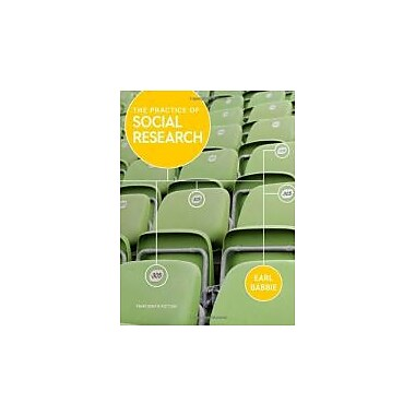 The Practice of Social Research, Used Book, (9781133049791)