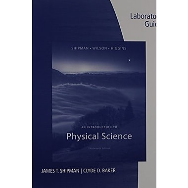Lab Guide for Shipman/Wilson/Higgins' An Introduction to Physical Science, 13th, New Book, (9781133109259)
