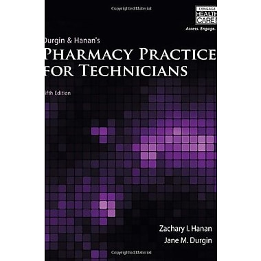 Pharmacy Practice for Technicians, New Book, (9781133132769)