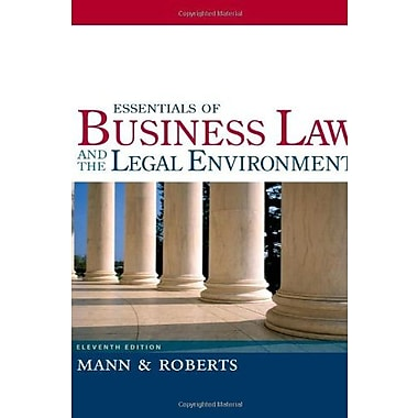 Essentials of Business Law and the Legal Environment, Used Book, (9781133188636)