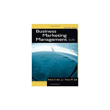 Business Marketing Management: B2B, Used Book, (9781133189565)