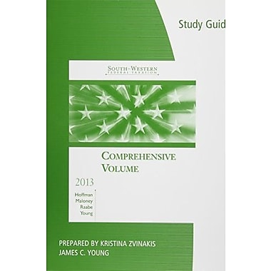 Study Guide for South-Western Federal Taxation 2013: Comprehensive, 36th, New Book, (9781133189930)