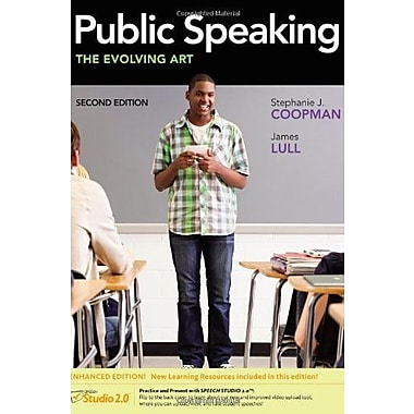 Public Speaking: The Evolving Art, Enhanced (with CourseMate, InfoTrac 1-Semester, Interactive Video and more)